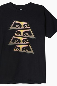 OBEY Pyramid Eyes S/S Black