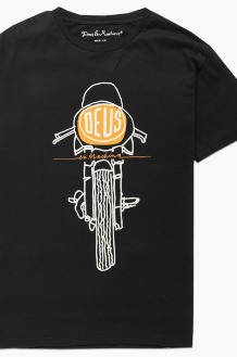 DEUS Frontal Matchless S/S Black
