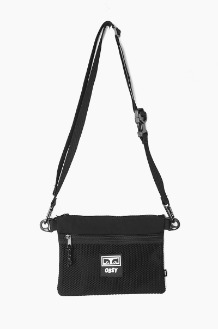 OBEY Conditions Side Bag Black