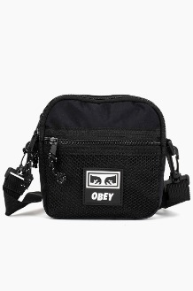 OBEY Conditions Traveler Bag Black