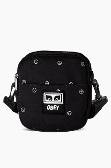 OBEY Drop Out Traveler Bag Symbol Black