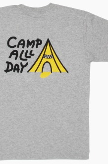 GO OUT Camp All Day S/S H.Grey