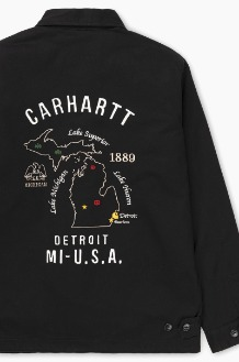 CARHARTT-WIP Lakes Jacket Black