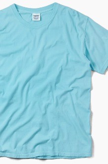 COMFORT COLORS Basic S/S Lagoon Blue