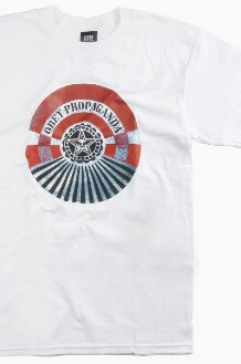 OBEY Tunnel Vision S/S White