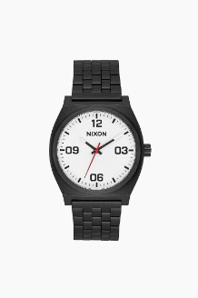 NIXON Time Teller Corp Black/White