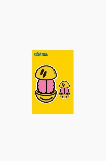 FRESHCUT Brain Smile Sticker Small