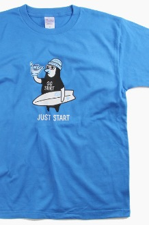 I AM A SURFER Just Start S/S Marine Blue