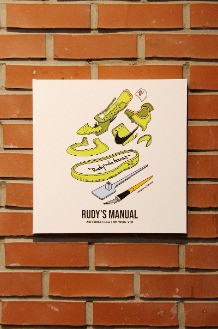 RUDYINDAHOUSE Rudy's Manual Artwork Canvas Force 35x35