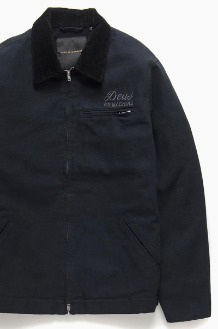 DEUS Address Workwear Jacket Black
