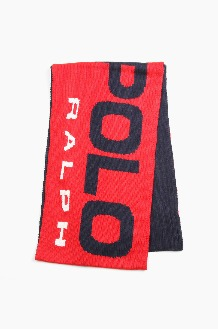 POLO Sport Knit Scarf Red/Navy