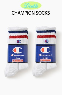CHAMPION Double Stripe Socks event