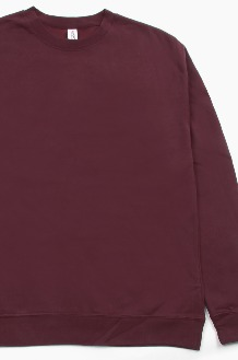 iNDEPENDENT Midweight Crew Maroon