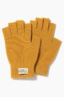 TNP WH Label Fingerless Gloves Mustard